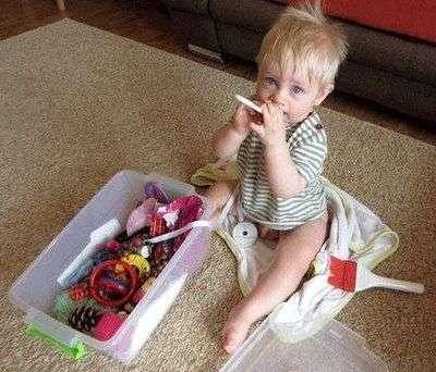 5 способов, чтобы занять малыша