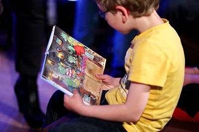Почему важно читать своим детям